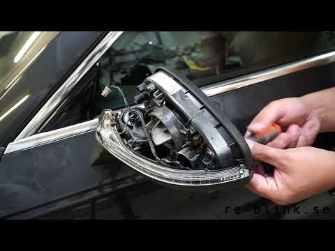 re:blink - Audi A4 8W B9 - Flowing / running / dynamic mirror turn light indicator installation