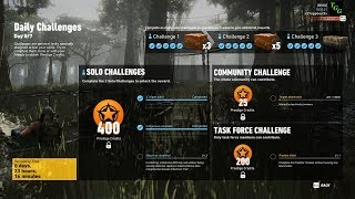 Ghost Recon Wildlands - Week 7 Day 6/7 Solo Challenge 2