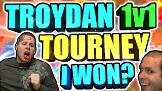 TROYDAN 1v1 TOURNAMENT • RACIST TRASH TALKER EXPOSED • AM I REALLY A DRIBBLE GAWD? (MUST WATCH)
