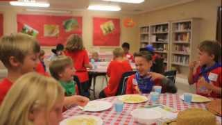 SonWest VBS 2013 » Decorating Snack Parlor