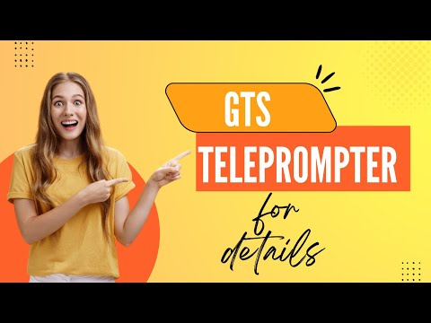 19 Inches Gts Teleprompter