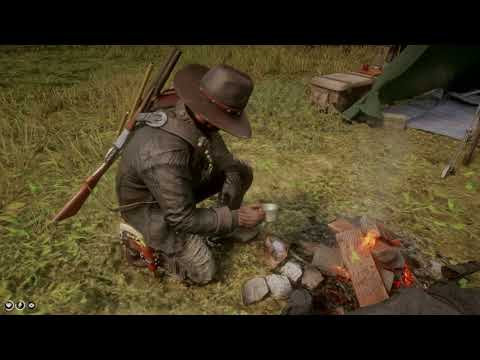 RDR2 - How to brew coffee in the wildnerness