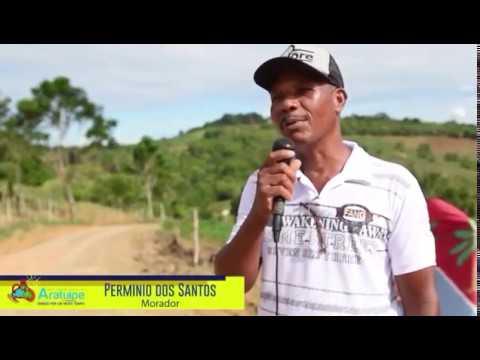 Inauguração da estrada que liga as comunidades da Terra Dura, Cortiço, Moendinha e Terezinha.