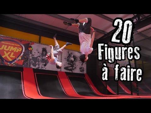 20 Figures à faire dans un Trampoline Park ! (Jump XL Coulommiers)