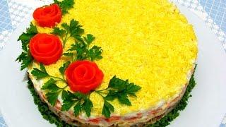 Вкусно - #Салат МИМОЗА Нежный и Вкусный Салат #МИМОЗА Рецепты Салатов