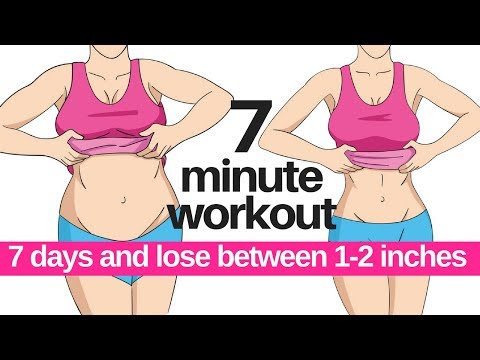 7 DAY CHALLENGE - 7 MINUTE WORKOUT TO LOSE BELLY FAT - HOME WORKOUT TO LOSE INCHES - START TODAY
