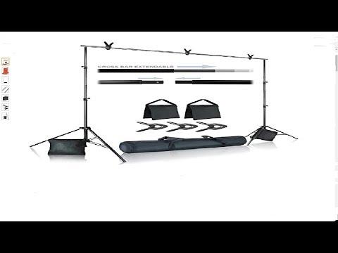 Julius Studio Photo Video Studio 10 ft. Wide Cross Bar 7.4 ft.  review