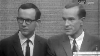 What's My Line? - Tom & Dick Smothers; PANEL: Steve Allen, Dina Merrill (Jan 29, 1967)
