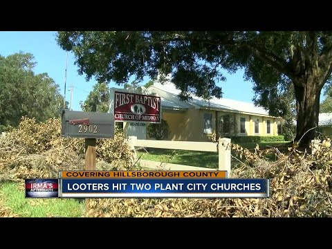 Teen duo arrested for breaking into churches during Irma