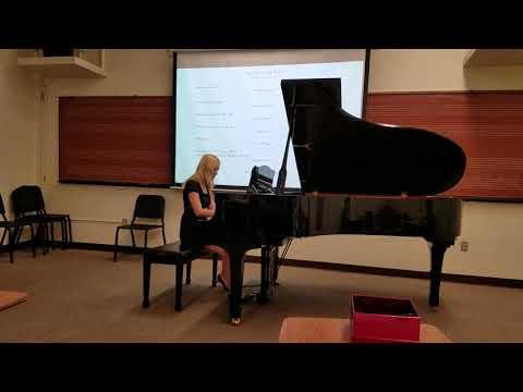 Danseuses de Delphes by Claude Debussy, performed by Hannah Walker
