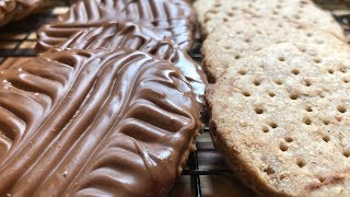 The Great Canadian Baking Show Milk Chocolate Digestive Cookies