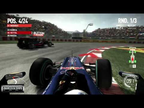 Gameplay de F1 2010