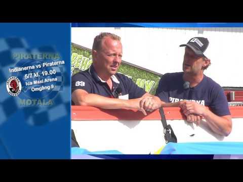 Indianerna vs Piraterna 5/7 Elitserien Speedway 2016
