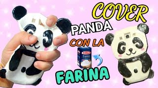 Facciamo una COVER KAWAII PANDA con la FARINA || Iolanda Sweets