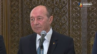 Băsescu: Guvernarea PSD este catastrofală şi nu mai trebuie să continue