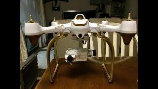 【ジンバルテスト】Hubsan H501S と MJX Bugs2WにワルケラG-2DジンバルとFIREFLY Q6 4kカメラを搭載
