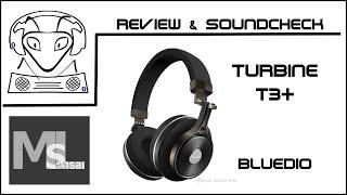 Bluedio Turbine T3+ Review & Soundcheck - Bluetooth Kopfhörer / Headphone (deutsch)