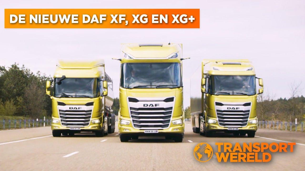 De nieuwe DAF XF, XG en XG+