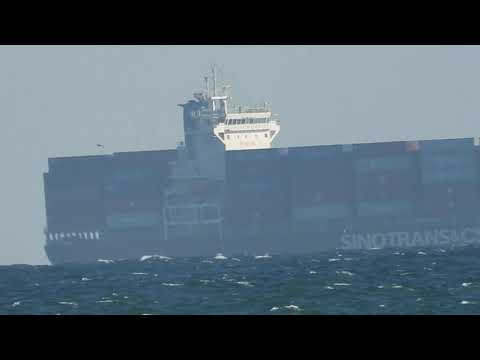 Suspicious Barges & Cargo Ships Off Our Coast! Is a Chinese Invasion Waiting in Cargo Ships Off US Coasts? - Must Video