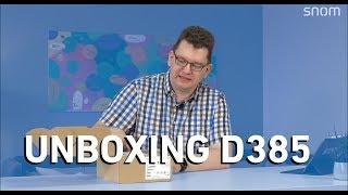 Unboxing Snom D385 IP-Telefon + Review (Deutsch)