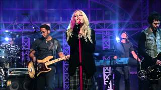 Avril Lavigne - When Youre Gone - Live on David Letterman 09/05/2007 HD