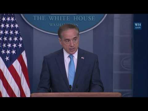 Briefing with Secretary of Veterans Affairs David Shulkin