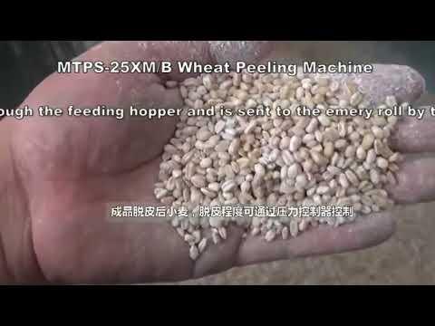 MTPS 25B Peladora de trigo,  Desgranadora de Trigo