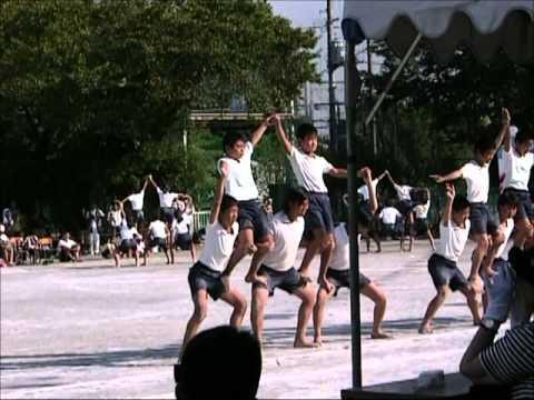 小6最後の運動会・・・組体操っす