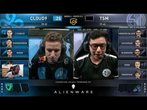 , title : '[PapaSmithy VOD Review] Cloud9 vs. TSM LCS Spring Week 6 2019'