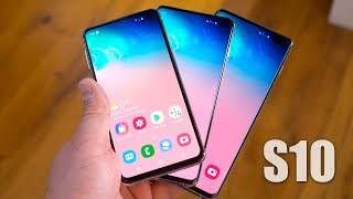 Samsung Galaxy S10 vs Samsung Galaxy S10 Plus vs Samsung Galaxy S10e: Which One Should You Buy?