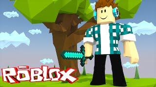 Roblox - MINECRAFT NO ROBLOX !! ( Roblox SkyWars)