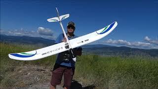 FPV RC Glider a sweet Saturday morning.