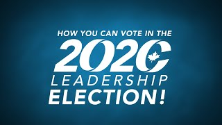 How to vote in the 2020 Conservative Leadership Election