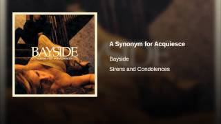 A Synonym for Acquiesce