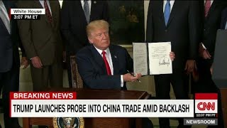 Trump Probes China's Trade Practices