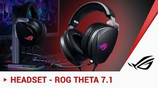 Das beste 7.1-Headset von ROG: Theta 7.1