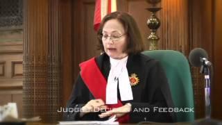 Mock Trial Step-by-Step: Judge's Feedback and Decision