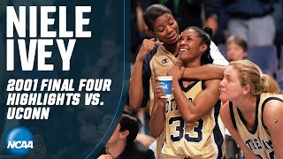 Niele Ivey: New Notre Dame coach's 2001 Final Four highlights