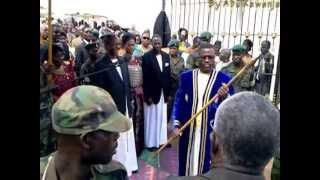 Abu Kawenja Video As Mayiga Gets Ddamula From Kabaka