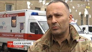 Лікар-стоматолог з Лівану безкоштовно лікує зуби українським військовим на фронті