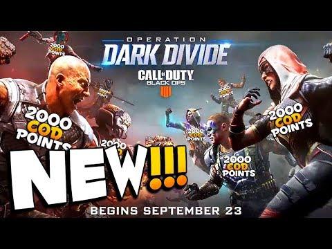 New Operation Dark Divide 1.24 Update   CoD BO4