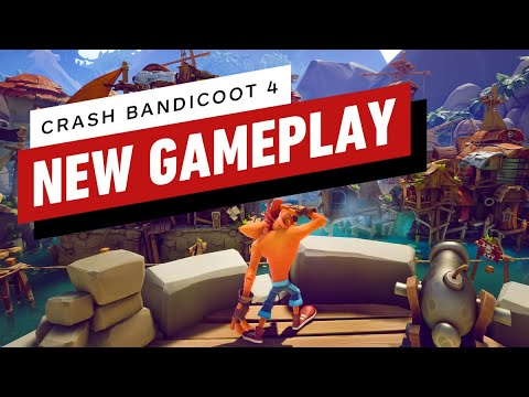 New Gameplay Shows New Tricks, Returning Moves de Crash Bandicoot 4: It's About Time