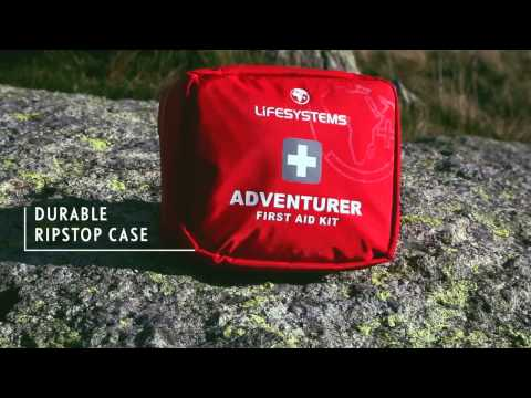 Lifesystems Adventurer Outdoor First Aid Kit 29 Items Video