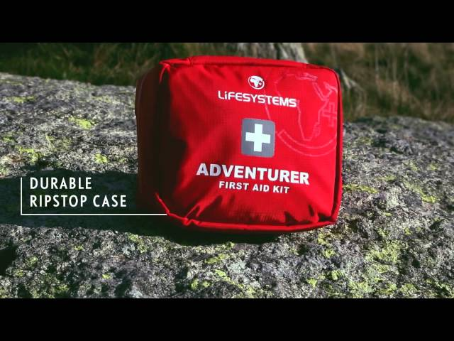 Видео Аптечка Lifesystems Adventurer First Aid Kit