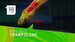 Zhu Xueying Wins Women's Trampoline Gold - Highlights | Nanjing 2014 Youth Olympic Games