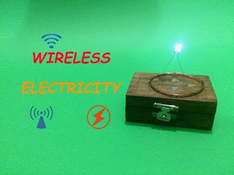 How To Make Wireless Electricity Transmission Circuit – DIY (Step By Step)