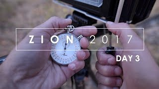 Zion Fall 2017: (Day 3) Landscape Photography: Shooting Maples On Large Format Film