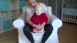 Zakrztuszenie dziecka - pierwsza pomoc