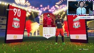 RECOMPENSAS FUT CHAMPIONS ÉLITE 1 MENSUAL   ¡SALAH SIF 90 IN A PACK!   FIFA 18