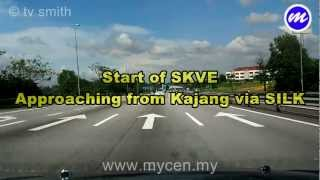 preview picture of video 'SKVE - South Klang Valley Expressway'